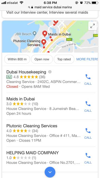 Google Local Ads UAE